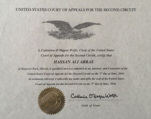 United States Court of Appeals for the Second Circuit diploma